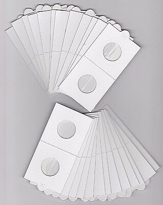 AU7.95 • Buy LIGHTHOUSE 22.5mm SELF ADHESIVE 2 X 2  COIN HOLDERS X 25 - SUIT $2 DOLLAR/2 CENT