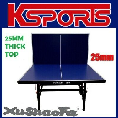 AU599.99 • Buy Xu Shao Fa 25mm Table Tennis Table Ping Pong Table - PRO SIZE & QUALITY - ITTF A