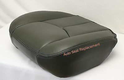 $69.50 • Buy 2003 2004 2005 06 Chevy Silverado Driver Bottom Replacement Seat Cover Dark Gray