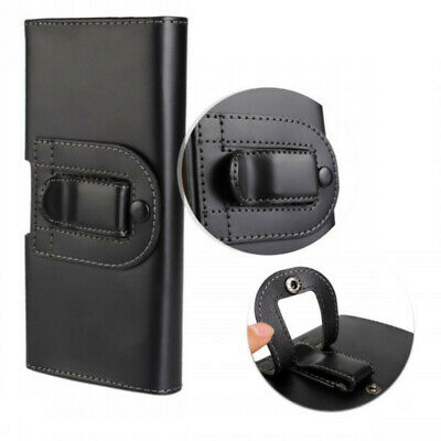AU13.33 • Buy For Sony Xperia XZ Premium Tradesman Workman Leather Belt Clip Pouch Case Cover