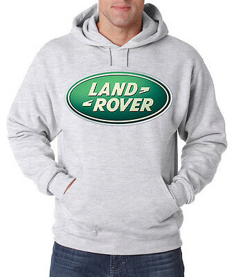 Land Rover CARS SUV Trucks NEW Men's HOODIE FRUIT OF THE LOOM PRINT BY EPSON • 21.99£