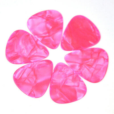 $ CDN8.07 • Buy 36 Pcs New Blank Heavy 0.96mm Guitar Picks Plectrums Celluloid Pearl Pink