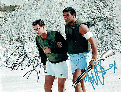 £64.99 • Buy Danny DYER & Tamer HASSAN Signed Autograph 10x8 Photo COA AFTAL The BUSINESS
