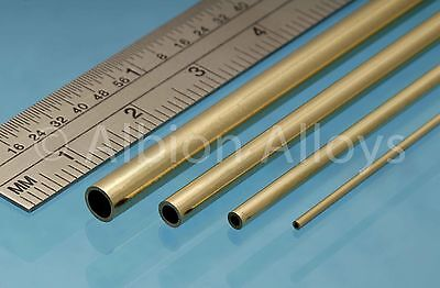 £5.25 • Buy Albion Alloys Round Brass Tube 305 Mm Length Scratch Building Detailing