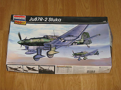 $26.95 • Buy Monogram Pro Modeler 1/48 Scale Ju87R-2 Stuka Model Kit 85-5975