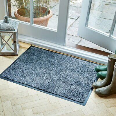 £18.99 • Buy Quality Framed Ulti-Mats Door Mat Anthracite Grey 75x45 80x60 70x100cm Washable