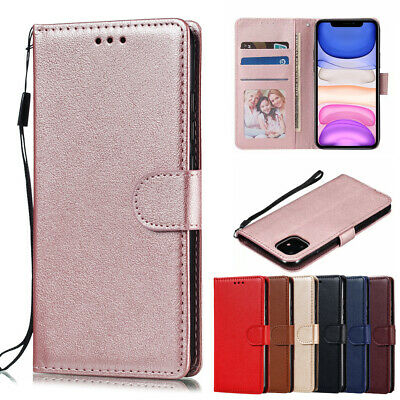 AU8.99 • Buy IPhone XS MAX XR X 8 7 6s Plus Luxury Leather Wallet Flip Case Cover For Apple