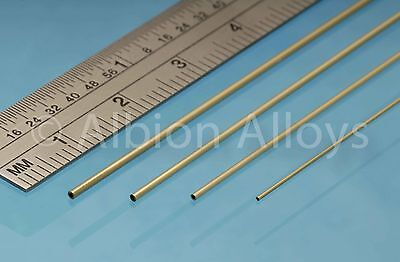 Albion Alloys Slide Fit Tube Selection Pack 305 Mm Length Scratch Building • 6.30£