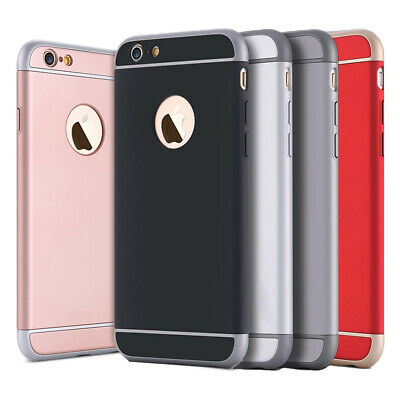 AU7.99 • Buy Luxury Slim Armor Protective Hard Case Cover For Apple IPhone 6S 6 7 8 Plus