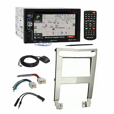 Planet Audio MP3 Navigation Car Stereo Dash Kit Harness For 04-06 Nissan Maxima  • 239.95$