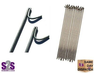 £25 • Buy Steel Metal Barrier Fencing Stakes ~ 10mm X 1200mm ~ Fence Pins