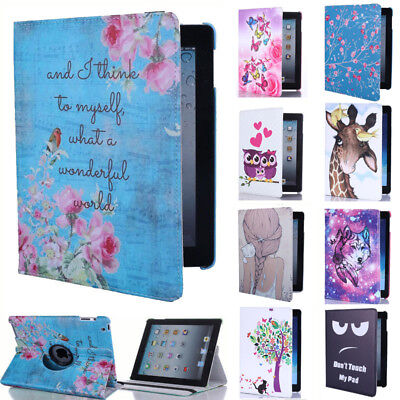£8.95 • Buy For Apple IPad 8 7 2 3 4 Mini 5 Air 3 360 Rotating Leather Smart Case Flip Cover