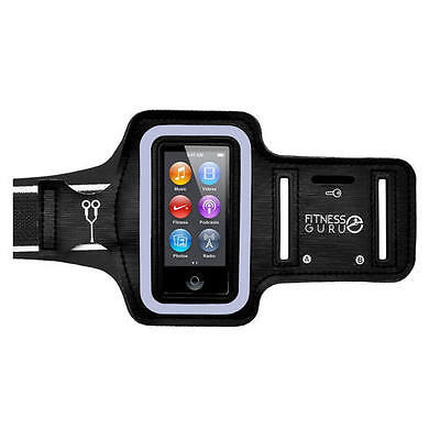 Sports Running Jogging Armband Holder Cover Case With Key Pocket For IPod Nano 7 • 4.95£