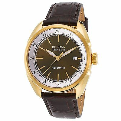 $ CDN283.48 • Buy Bulova 64B127 Men's Accu-Swiss Tellaro Gold-Tone Automatic Watch