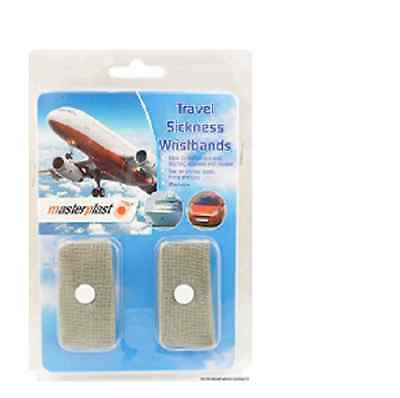 £2.60 • Buy Travel Sickness Bands Anti Nausea Bands Twin Pack Motion Sea Car Adult Children