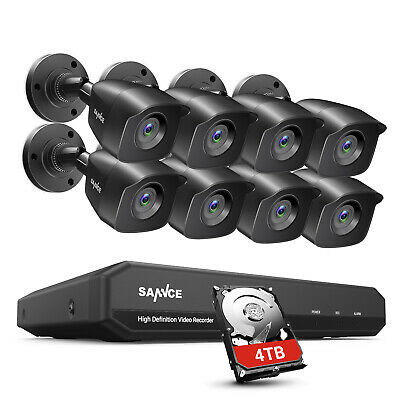 AU341.99 • Buy SANNCE 5IN1 1080P HDMI 8CH / 4CH DVR CCTV Security Camera System Smart Playback