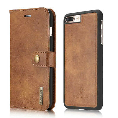 AU16.99 • Buy Luxury Magnetic Leather Detachable Wallet Card Case Cover For IPhone 6s 7 8 Plus