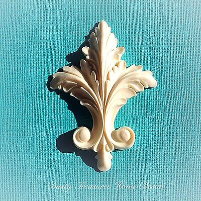 AU8.45 • Buy Shabby Chic French Furniture Moulding Furniture Applique Carving Onlay