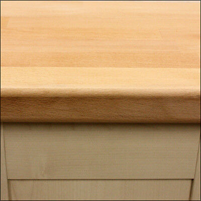 Prime Beech Hardwood Kitchen Worktop, Solid Wood Worktops, Oil And Accessories • 15£