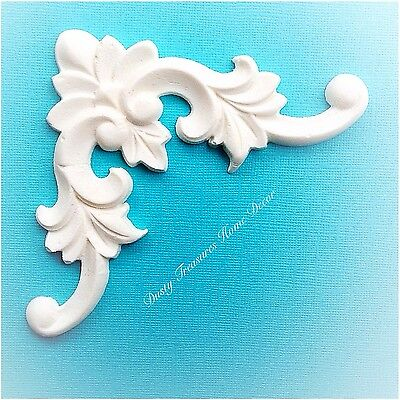AU8.95 • Buy Shabby Chic French Provincial Furniture Appliques Carving Onlays