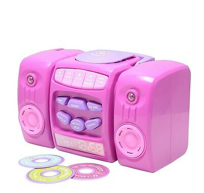 £16.99 • Buy New Elegant Chad Valley CD-Player In Pink Colour With Musical Fun