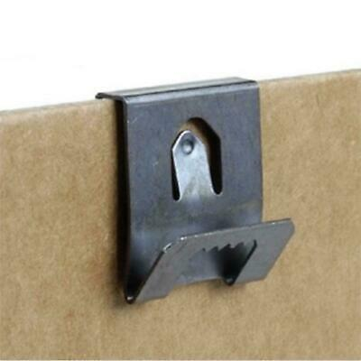 Clip Over Sawtooth Frame Hanger 2-3mm Board Picture Photo Hanging • 2.49£