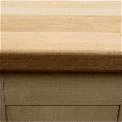 Maple Solid Wood Kitchen Worktops, 3M 4M & Breakfast Bars, Oils And Accessories • 140£