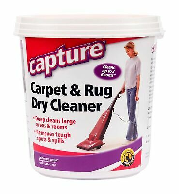 £13.08 • Buy Capture Carpet Dry Cleaner Powder 2.5 Lb - Deodorize Clean Stains Smell From Rug