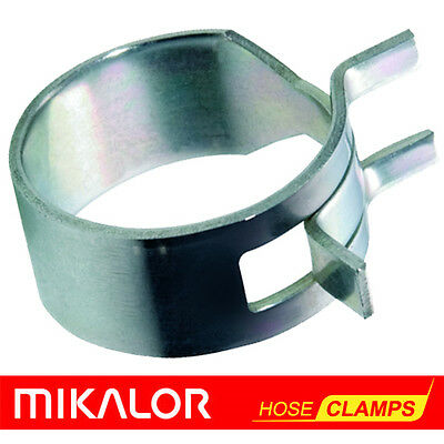 £1.84 • Buy Mikalor W1 Spring Hose Clips Fuel - Air - Water - Gas - Silicone Hose Clamps