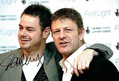 £39.99 • Buy Danny DYER Signed Autograph 12x8 Photo COA AFTAL Actor With Sean BEAN