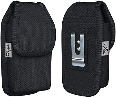 AU15.45 • Buy AGOZ Heavy Duty Rugged Belt Clip Loop Pouch With Otterbox Defender Case On It