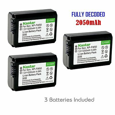 $ CDN33.19 • Buy FW50 Battery For Sony  Alpha 7 (a7), 7R (a7R), 7S (a7S), A3000, A5000, A6000