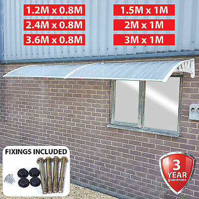 $ CDN155.43 • Buy Door Canopy Awning Rain Shelter Outdoor Front Back Awning Cover Roof Protector