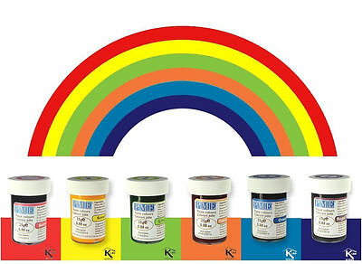 PME Rainbow Icing Colour Gel Paste Set Cupcake Decorating Cake Colours Kit • 10.89£