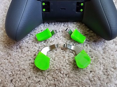 $8 • Buy EPEX Pro (Green) - SERIES 1 Paddle Extensions For Xbox One Elite Controller