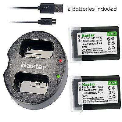 $ CDN27.99 • Buy FW50 Battery&DUAL Charger For Sony Alpha A6000, Sony Cyber-shot DSC-RX10,SLT-A33