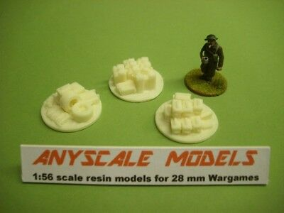 £2.25 • Buy Wargames Scenery. 3 Small Jump Off/objective Markers 1/56 For 28mm (846)