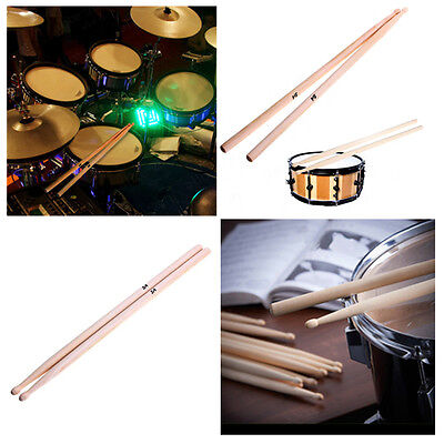 AU5.91 • Buy 5A Drum Sticks Pair High Quality Maple Wood Tip Drumsticks Percussion Sticks