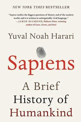 AU45.19 • Buy Sapiens: A Brief History Of Humankind: By Yuval Noah Harari