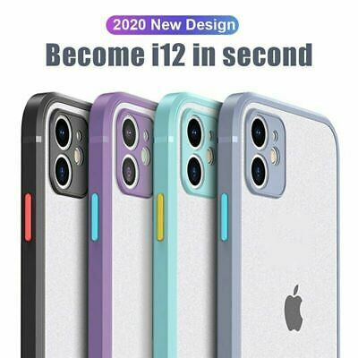 AU11.95 • Buy IPhone 11 Pro/Max/XR/XS/8/7 Plus Shockproof Case Clear Silicone Heavy Duty Cover