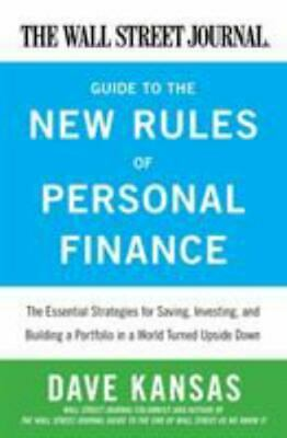 $20.77 • Buy The Wall Street Journal Guide To The New Rules Of Personal Finance: Essential...