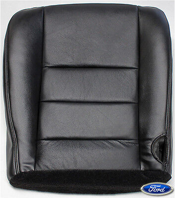 $175.50 • Buy 2005 2006 Ford F250 Lariat XLT Sport Driver Side Bottom Leather Seat Cover Black