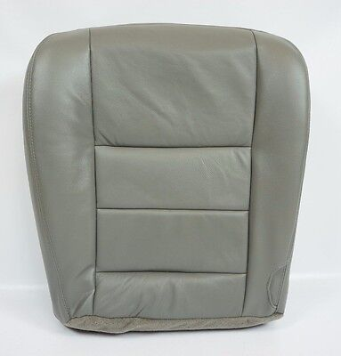 $69.50 • Buy 2003 2004 2005 2006 2007 Ford F250 F350 Lariat Driver Bottom Seat Cover Gray