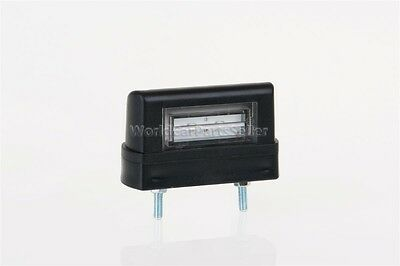 $ CDN15.49 • Buy LED License Plate Light 83x50x30mm BLACK + 1m Cable + 2x1,5mm² Quick Connector