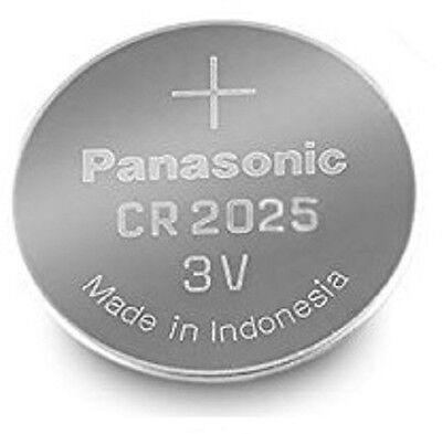 Panasonic CR2025 Lithium Coin Cell 3V Battery Car Key Fobs Toys Remote Batteries • 1.99£