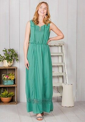 AU51.92 • Buy Matilda Jane Clothing Women Size Med Adventure Begins Down In The Valley Dress