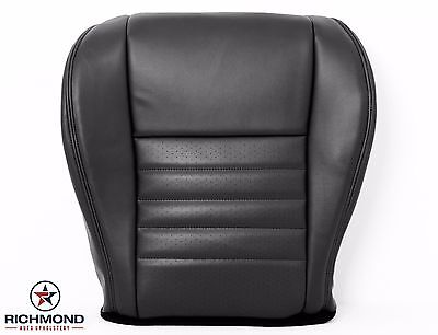 $146.96 • Buy 99-04 Mustang GT -Driver Bottom Replacement Perforated Leather Seat Cover Black