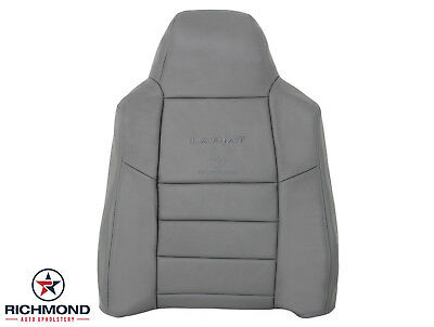 $305.10 • Buy 05 F250 F350 Lariat 5.4L 6.0L V8 6.8L -Driver Lean Back Leather Seat Cover GRAY