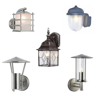 Outside Traditional Or Modern Wall Garden Porch Lighting Lantern Light Fitting • 22.65£