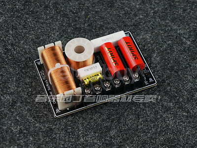 AU31.27 • Buy 2pcs New 2 Way HiFi Speaker Audio Crossover Filters Bass Frequency Divider 200W